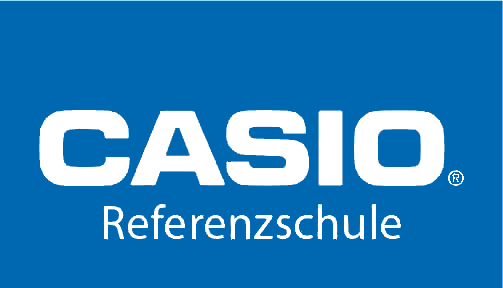 Casio Referenzschule Logo