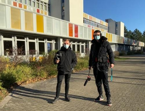 Kamerateam am Trave-Gymnasium – Was ist denn da los?