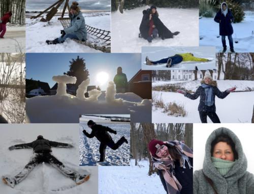 Winterliche Valentinsgrüße an unsere Schülerinnen und Schüler