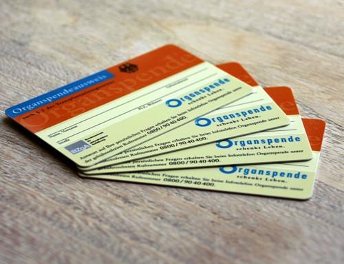 Hast du einen Organspende-ausweis?