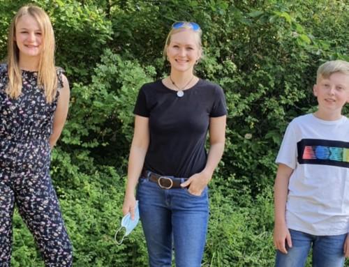 Nachgefragt… – Isa und Leon im Gespräch mit Frau Langerfeldt