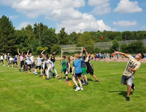 Höher, schneller, weiter… – Sportfest unserer 5. Klassen